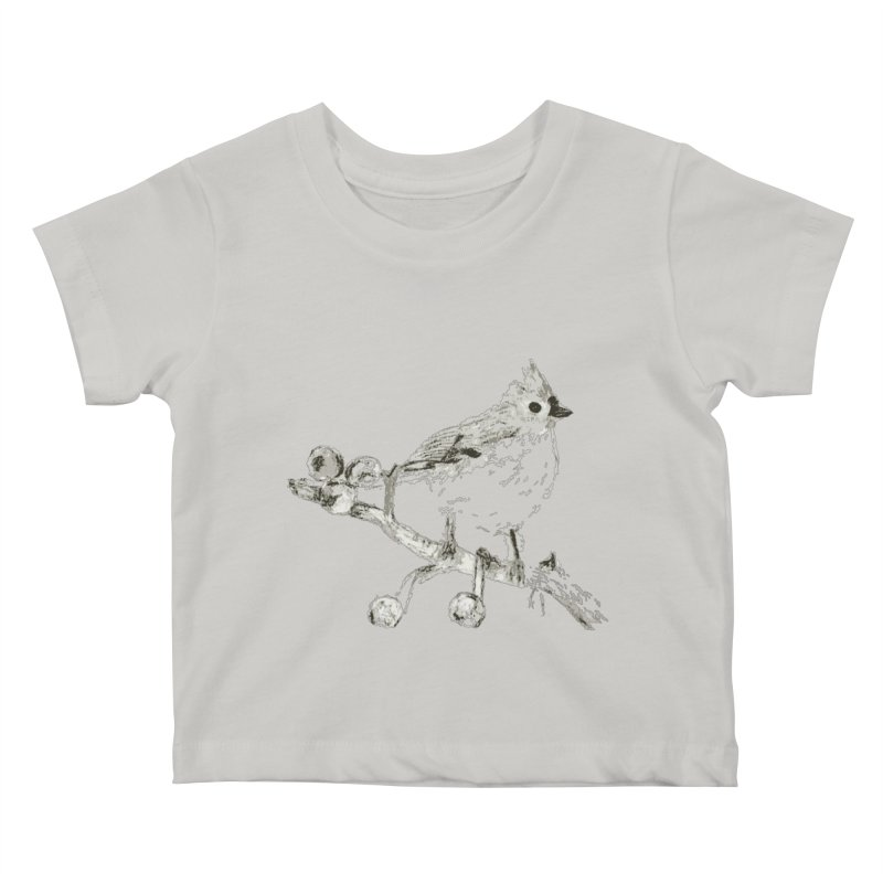 Perched Kids Baby T-Shirt by samanthalilley's Artist Shop