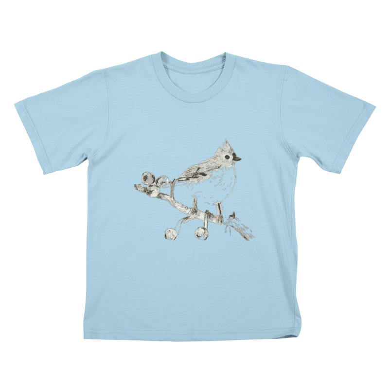 Perched Kids T-shirt by samanthalilley's Artist Shop