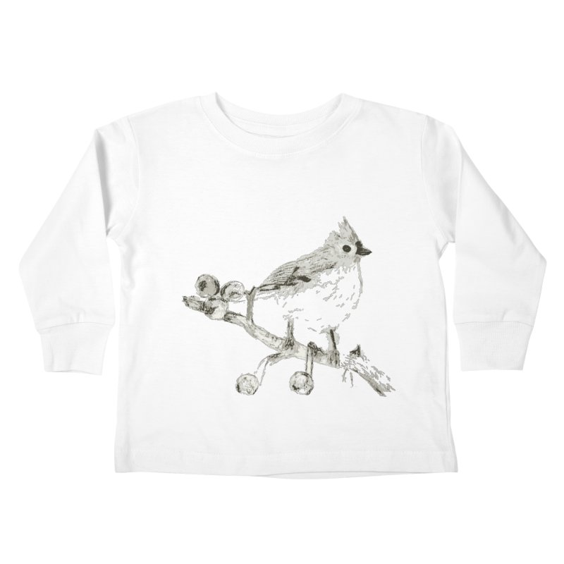 Perched Kids Toddler Longsleeve T-Shirt by samanthalilley's Artist Shop
