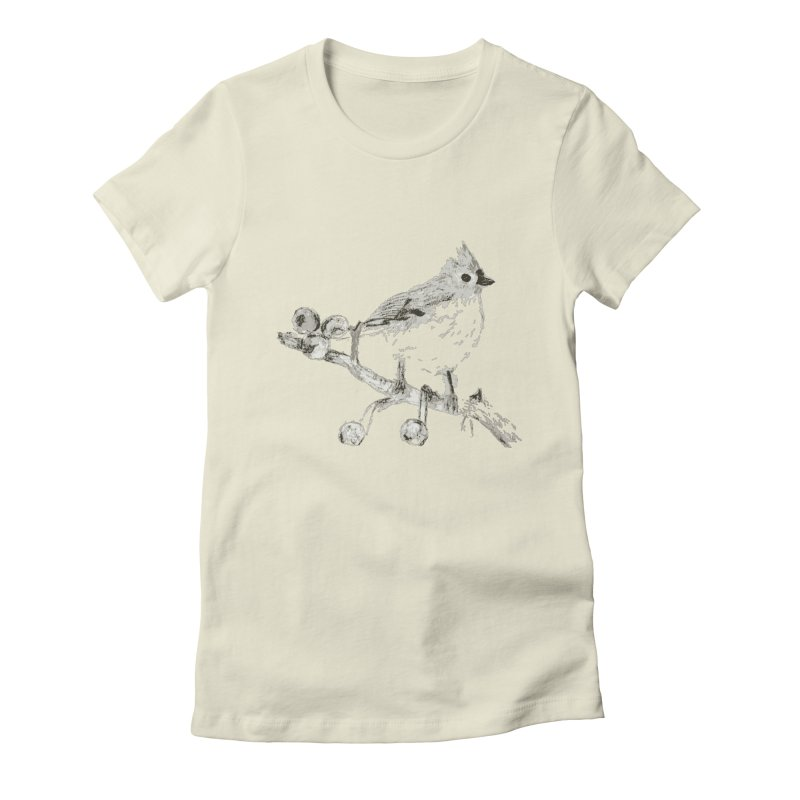 Perched Women's Fitted T-Shirt by samanthalilley's Artist Shop