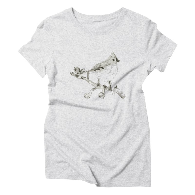 Perched Women's Triblend T-shirt by samanthalilley's Artist Shop