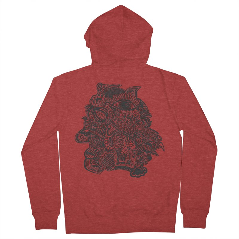 Face It Women's Zip-Up Hoody by samanthalilley's Artist Shop