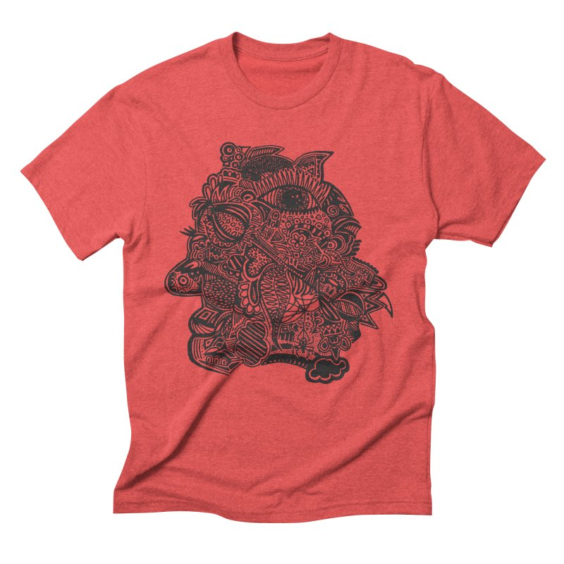 Face It Men's Triblend T-Shirt by samanthalilley's Artist Shop