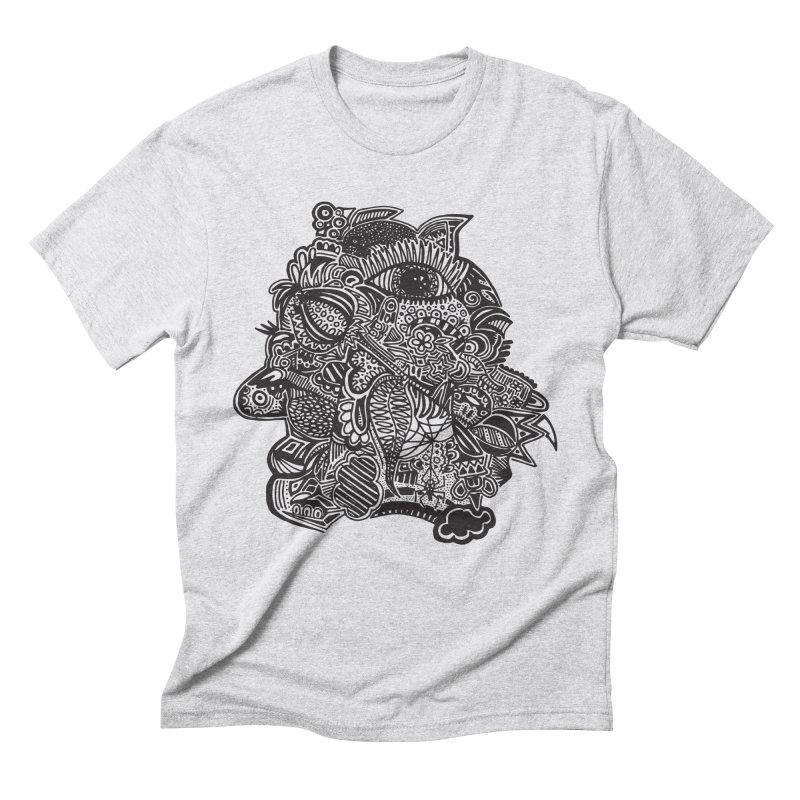 Face It Men's Triblend T-Shirt by samanthalilley's Artist Shop