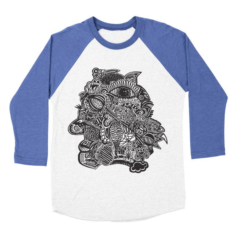 Face It Women's Baseball Triblend T-Shirt by samanthalilley's Artist Shop