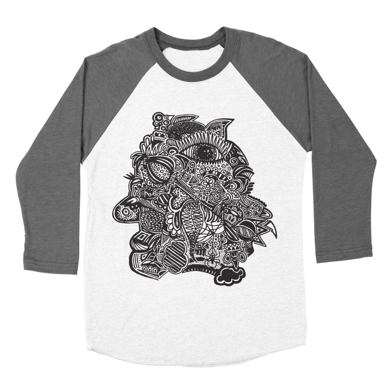 Face It Men's Baseball Triblend T-Shirt by samanthalilley's Artist Shop