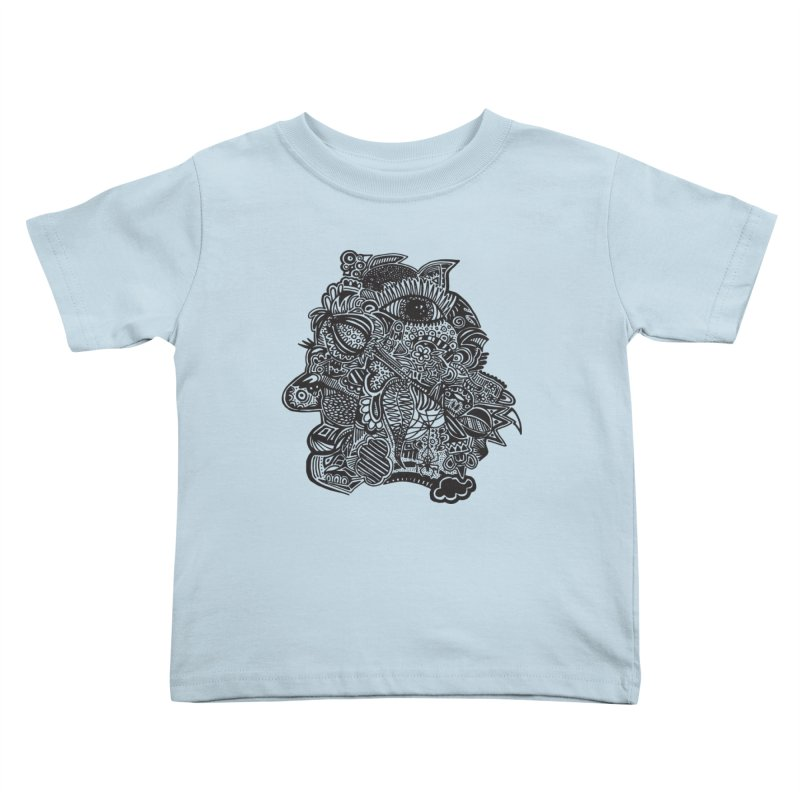 Face It Kids Toddler T-Shirt by samanthalilley's Artist Shop