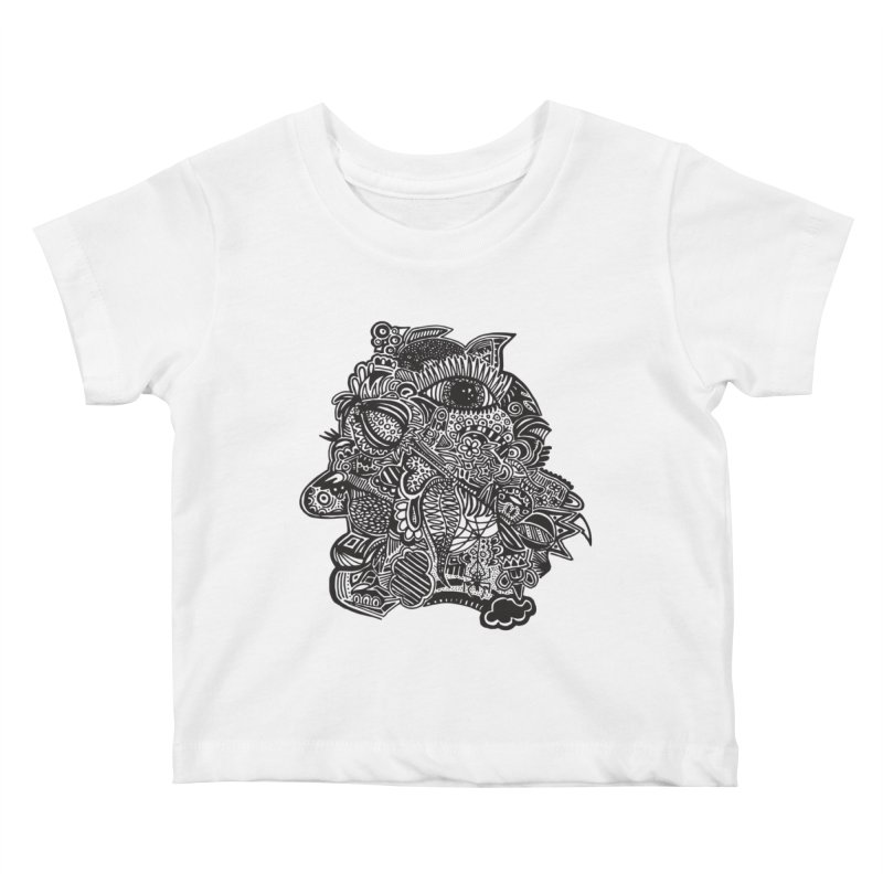 Face It Kids Baby T-Shirt by samanthalilley's Artist Shop