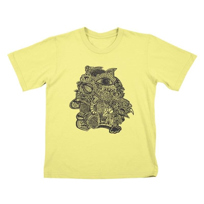 Face It Kids T-shirt by samanthalilley's Artist Shop