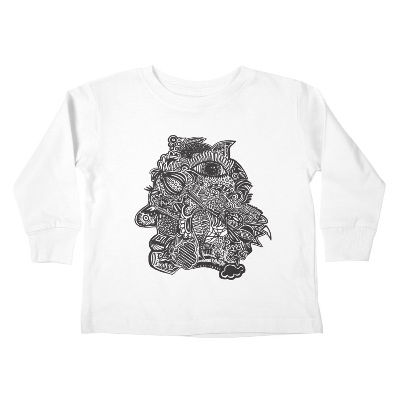 Face It Kids Toddler Longsleeve T-Shirt by samanthalilley's Artist Shop