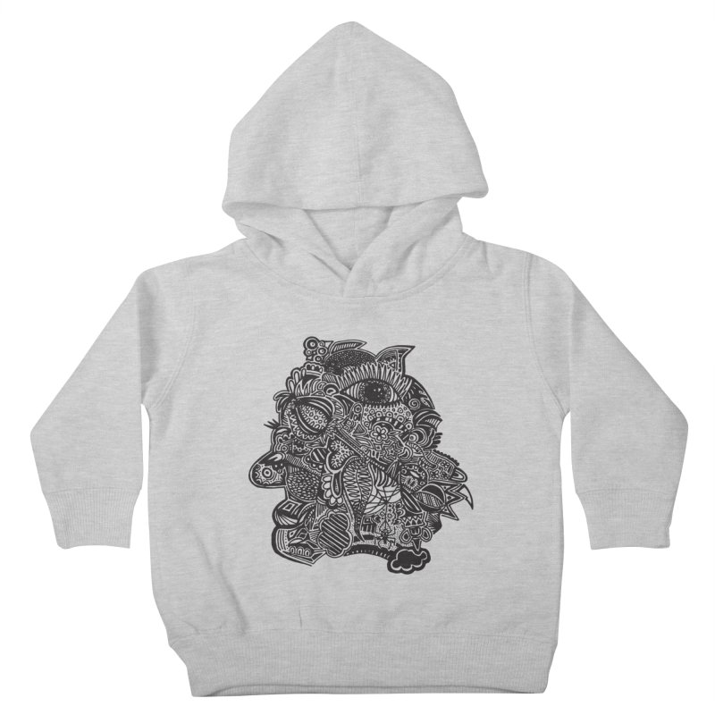 Face It Kids Toddler Pullover Hoody by samanthalilley's Artist Shop