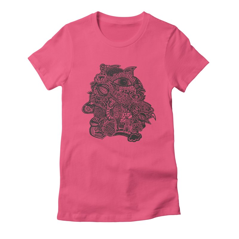Face It Women's Fitted T-Shirt by samanthalilley's Artist Shop