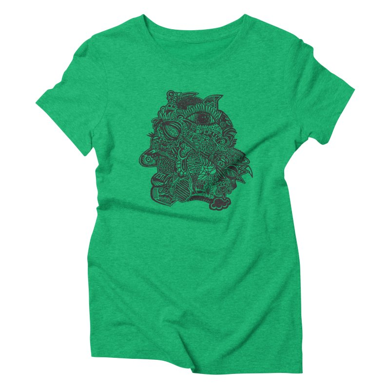 Face It Women's Triblend T-Shirt by samanthalilley's Artist Shop