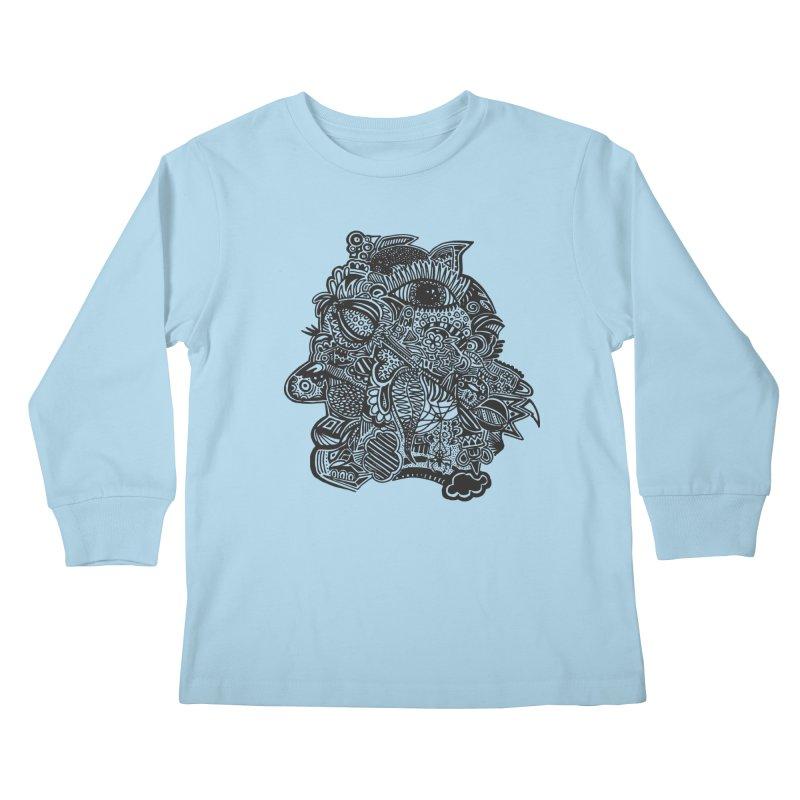 Face It Kids Longsleeve T-Shirt by samanthalilley's Artist Shop