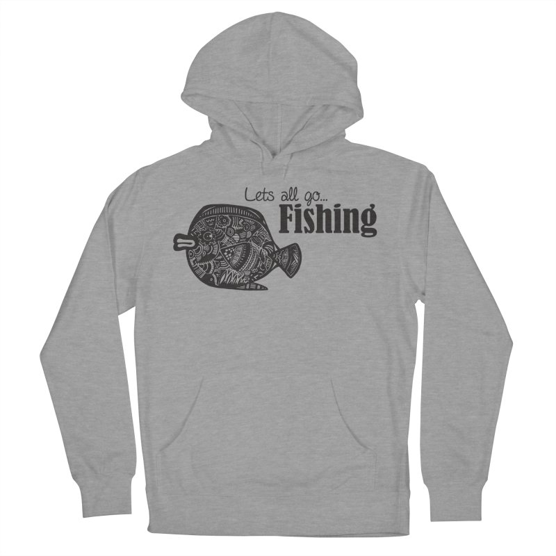 Let's all go fishing... Men's Pullover Hoody by samanthalilley's Artist Shop