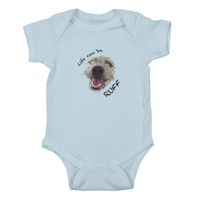 Ruff Kids Baby Bodysuit by samanthalilley's Artist Shop