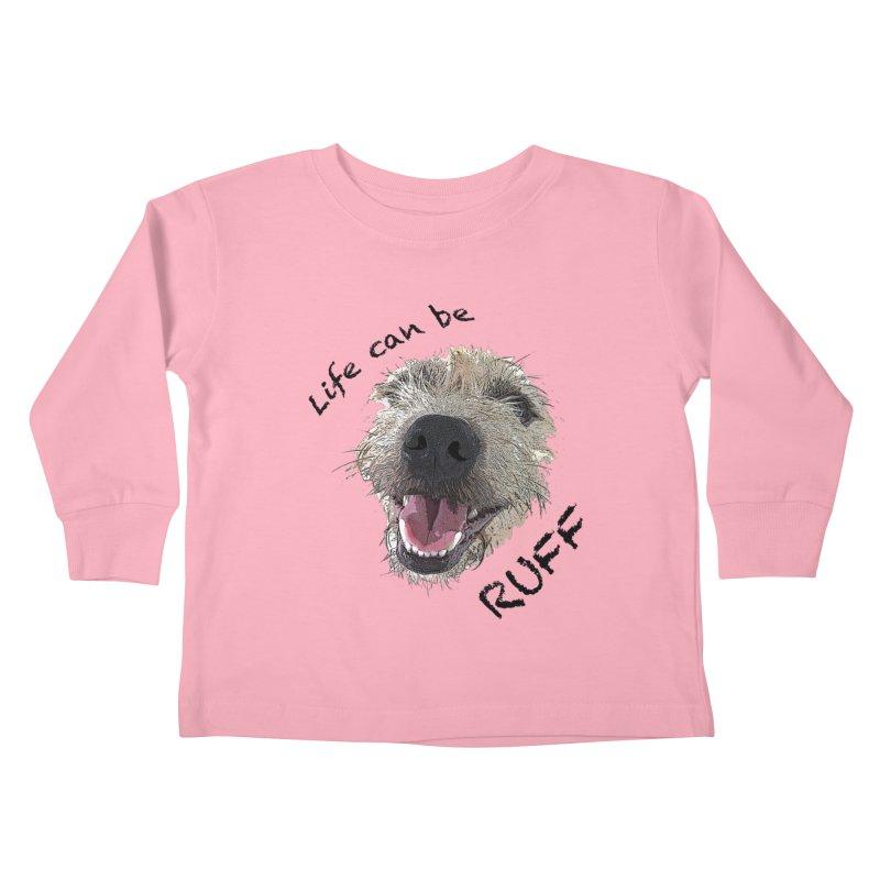 Ruff Kids Toddler Longsleeve T-Shirt by samanthalilley's Artist Shop