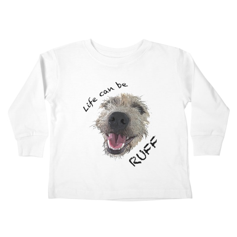 Ruff Kids Toddler Longsleeve T-Shirt by samanthalilley's Artist Shop