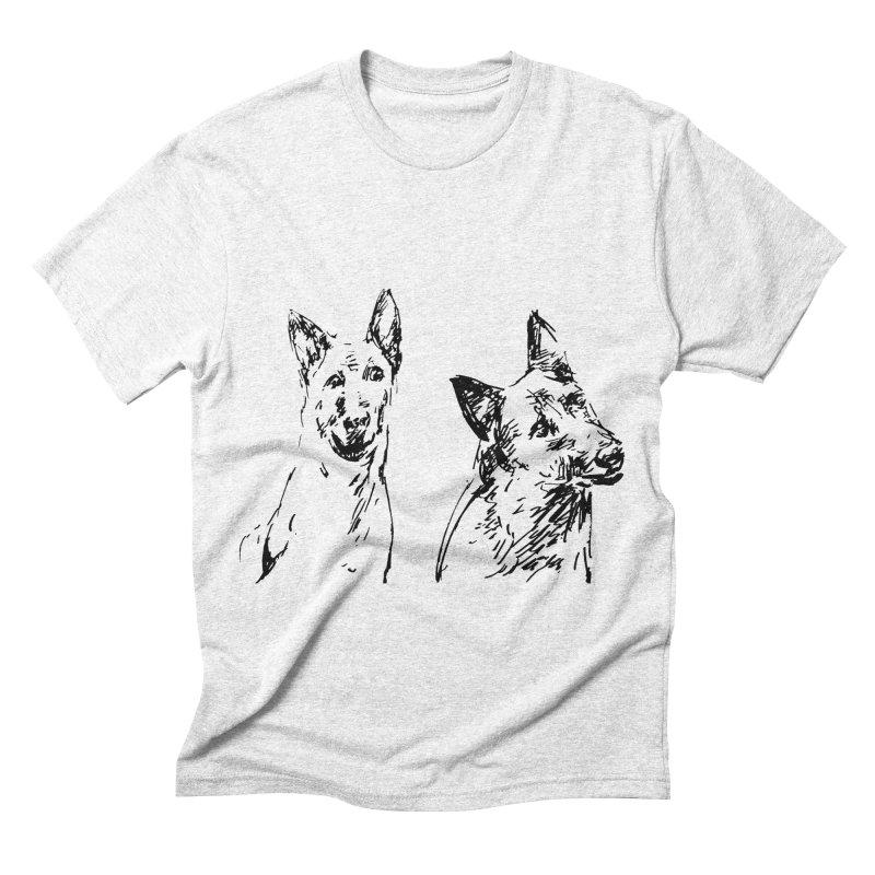 Two Dogs   by Dmitry Samarov's Artist Shop