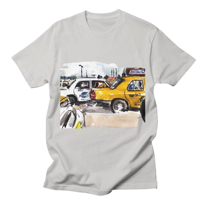 Cabs Men's T-Shirt by Dmitry Samarov's Artist Shop