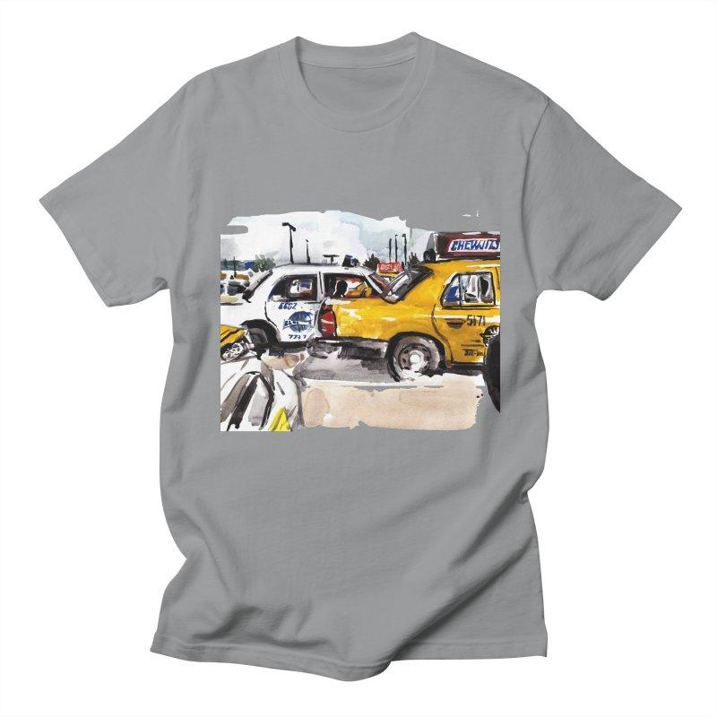 Cabs Men's Regular T-Shirt by Dmitry Samarov's Artist Shop