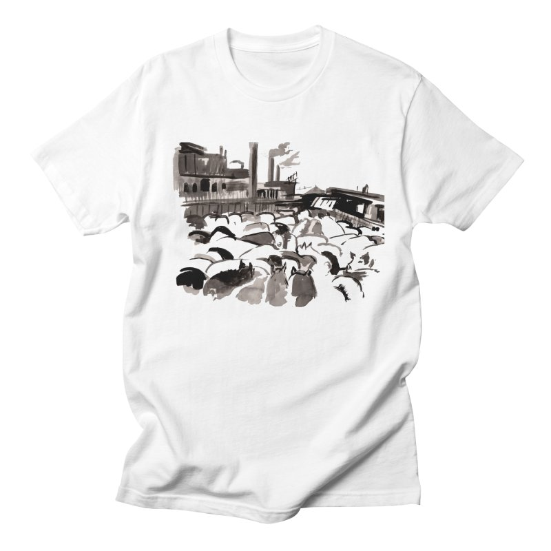 The Jungle Men's T-Shirt by Dmitry Samarov's Artist Shop