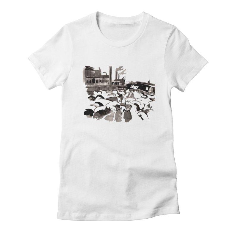 The Jungle Women's T-Shirt by Dmitry Samarov's Artist Shop
