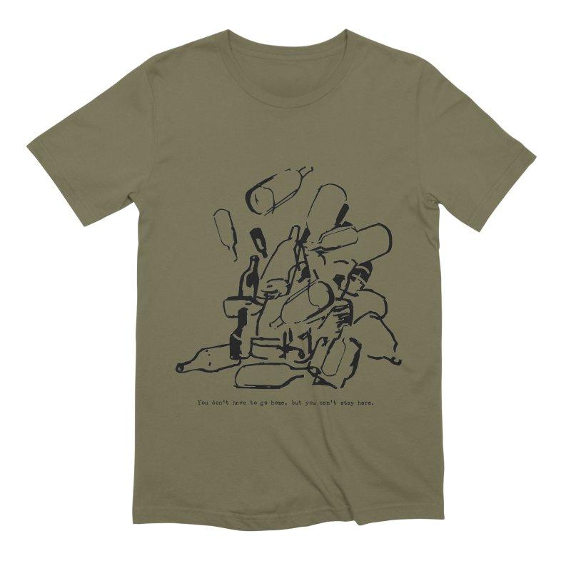 Old Style Men's T-Shirt by Dmitry Samarov's Artist Shop