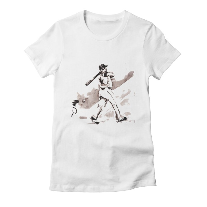 Dunn Whiffs Women's Fitted T-Shirt by Dmitry Samarov's Artist Shop