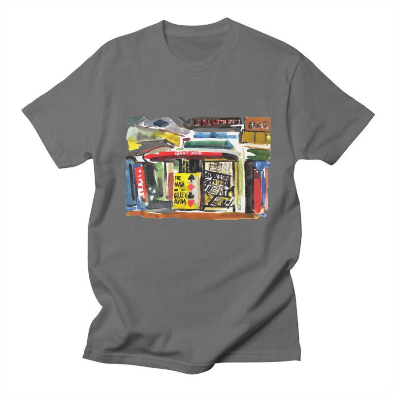 Chicago Books Men's T-Shirt by Dmitry Samarov's Artist Shop