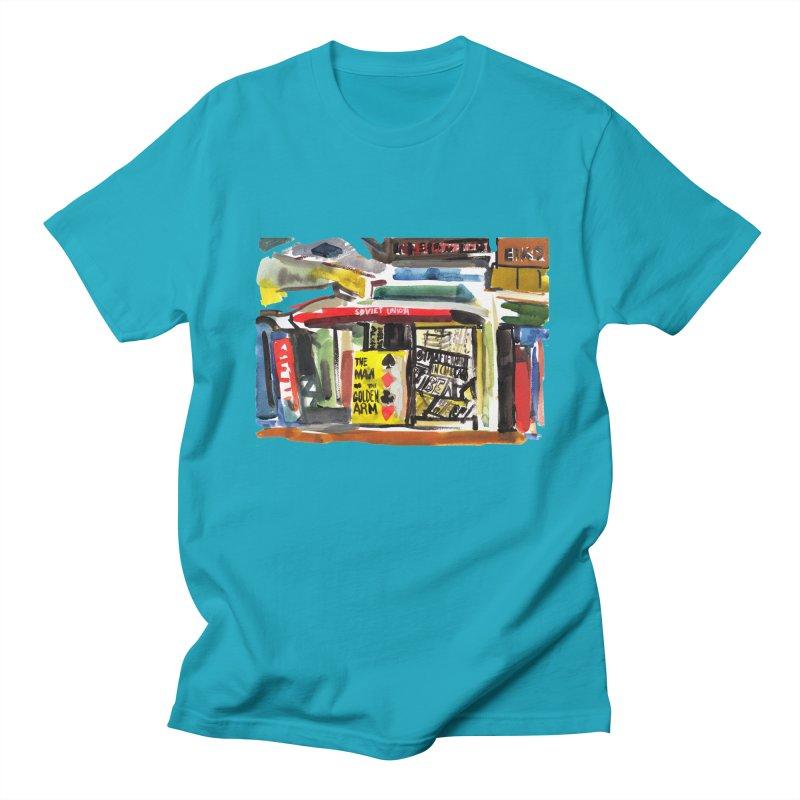 Chicago Books Men's Regular T-Shirt by Dmitry Samarov's Artist Shop