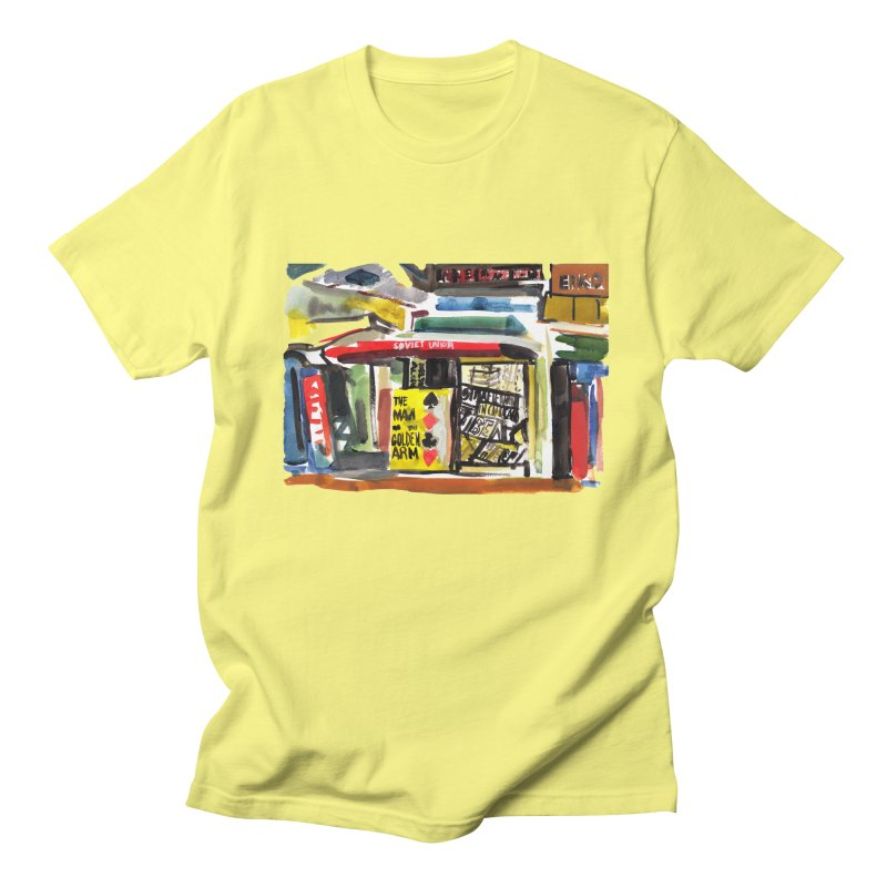 Chicago Books Men's Regular T-Shirt by Dmitry Samarov's Artist Shop