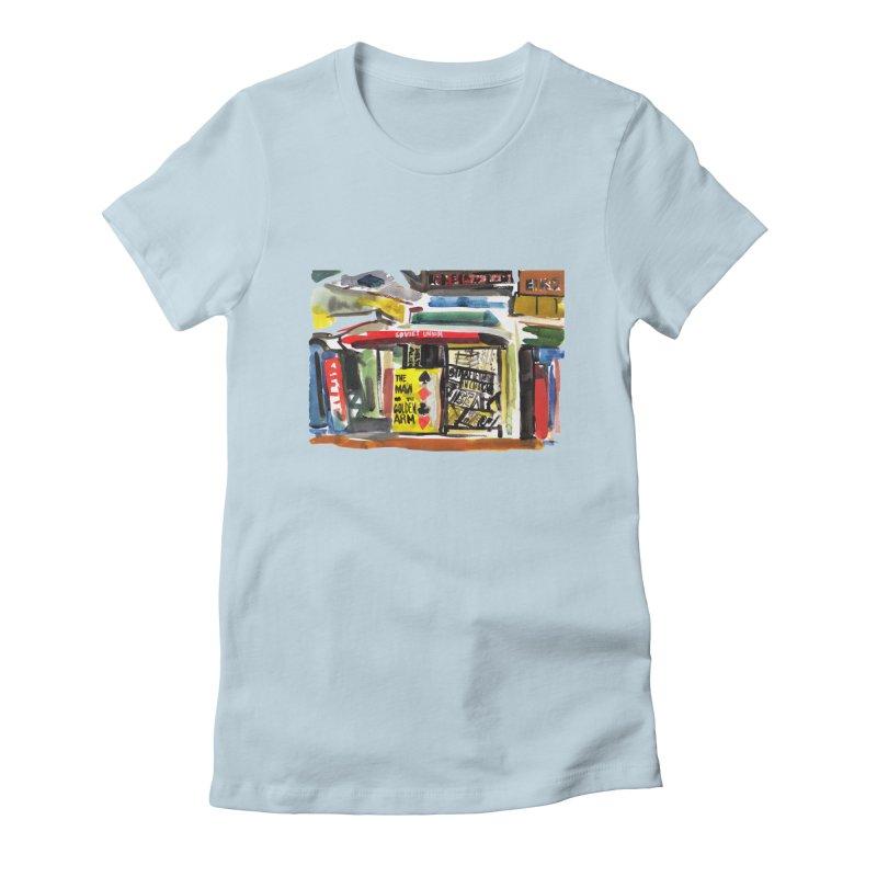 Chicago Books Women's T-Shirt by Dmitry Samarov's Artist Shop