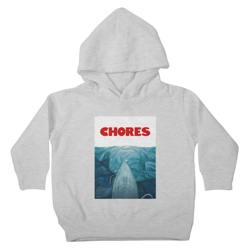 CHORES Kids Toddler Pullover Hoody by Sam Gilbey