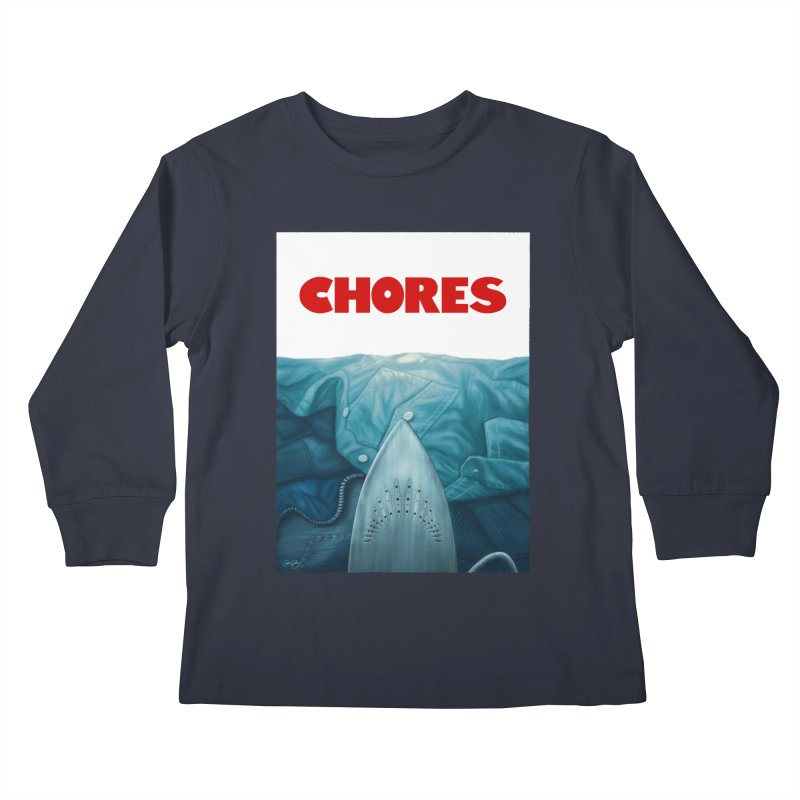 CHORES Kids Longsleeve T-Shirt by Sam Gilbey