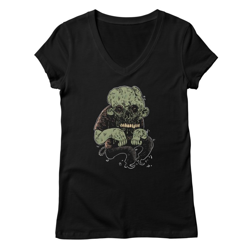 Dancin' Creep Women's Regular V-Neck by Sam Heimer