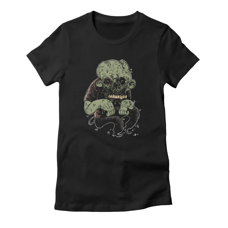 Dancin' Creep Women's Fitted T-Shirt by Sam Heimer