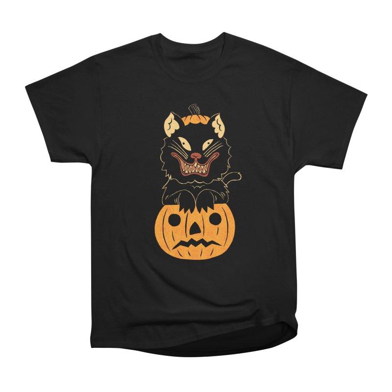 Not THAT Cat Men's Heavyweight T-Shirt by Sam Heimer