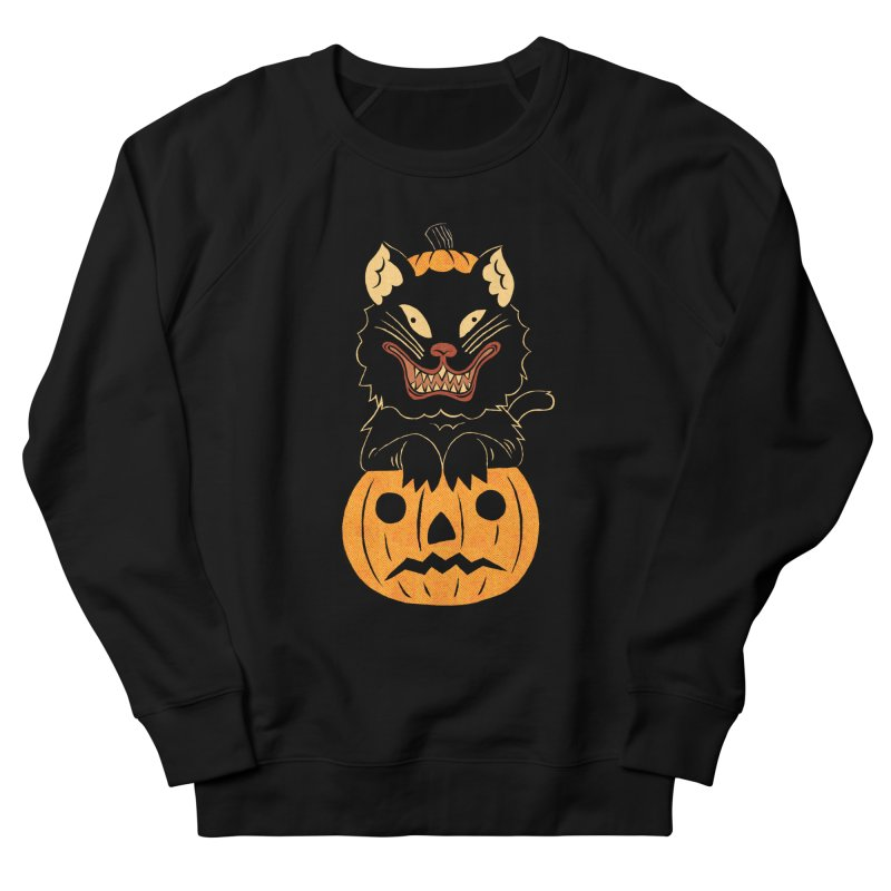 Not THAT Cat Men's French Terry Sweatshirt by Sam Heimer