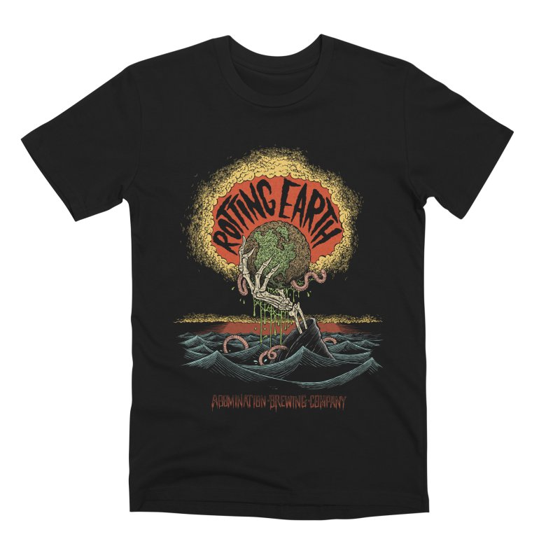 Rotting Earth // Abomination Brewing Men's T-Shirt by Sam Heimer