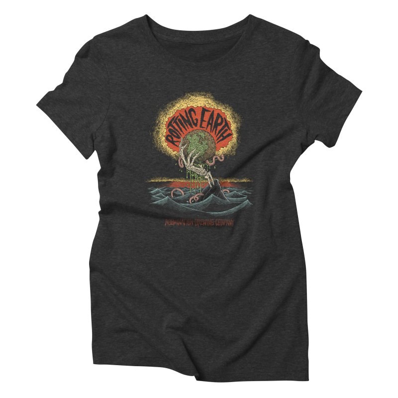 Rotting Earth // Abomination Brewing Women's Triblend T-Shirt by Sam Heimer