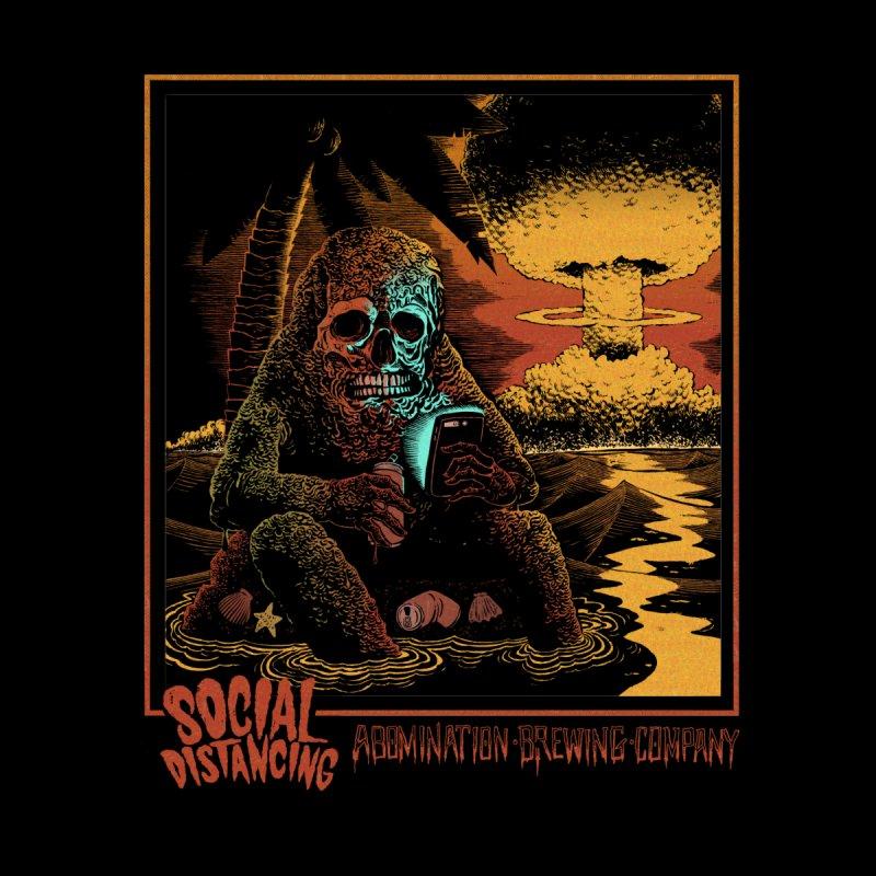 Abomination Brewing // Social Distancing Men's T-Shirt by Sam Heimer