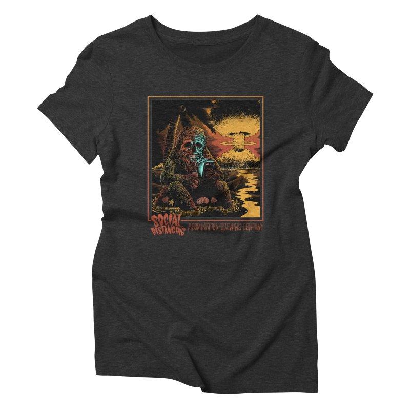 Abomination Brewing // Social Distancing Women's T-Shirt by Sam Heimer