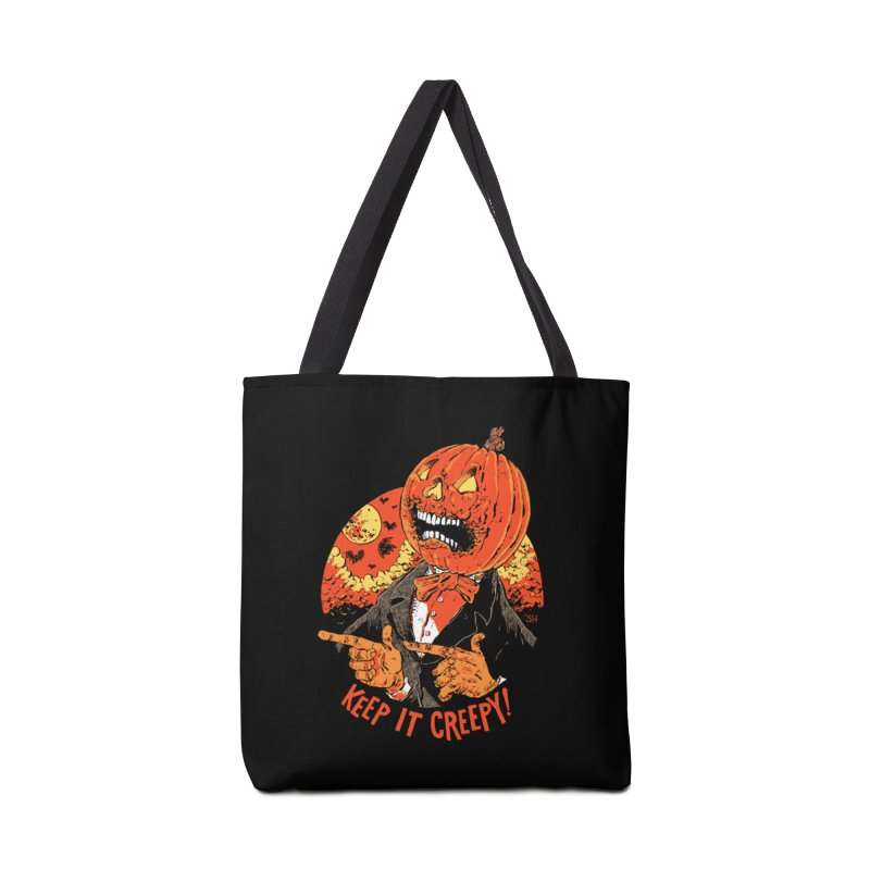 Keep It Creepy Accessories Tote Bag Bag by Sam Heimer