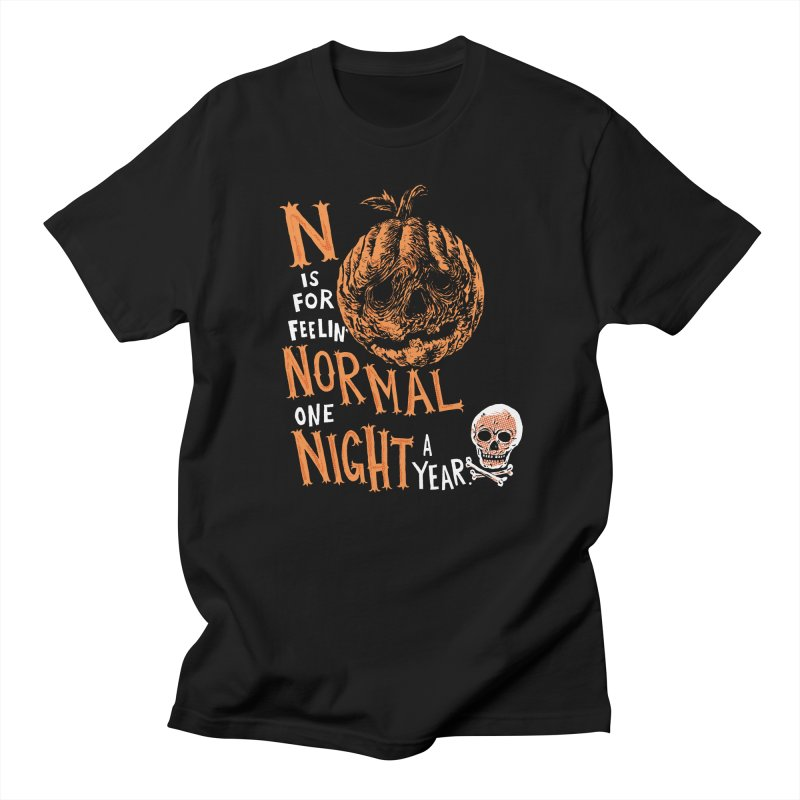 N is for Normal Men's T-shirt by Sam Heimer
