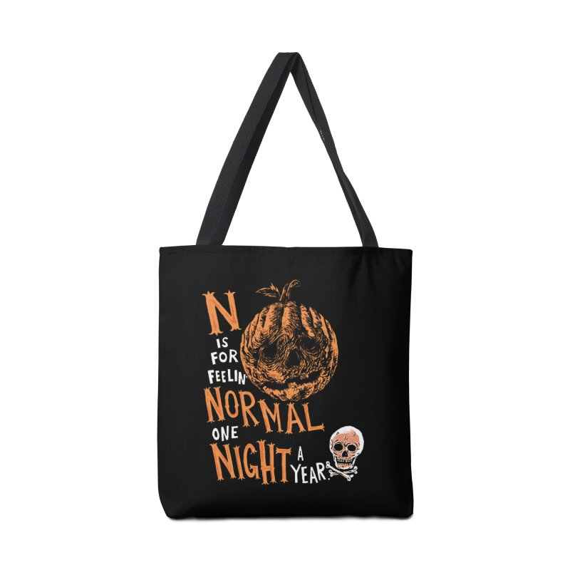 N is for Normal Accessories Tote Bag Bag by Sam Heimer