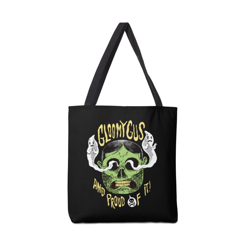 Gloomy Gus Accessories Tote Bag Bag by Sam Heimer