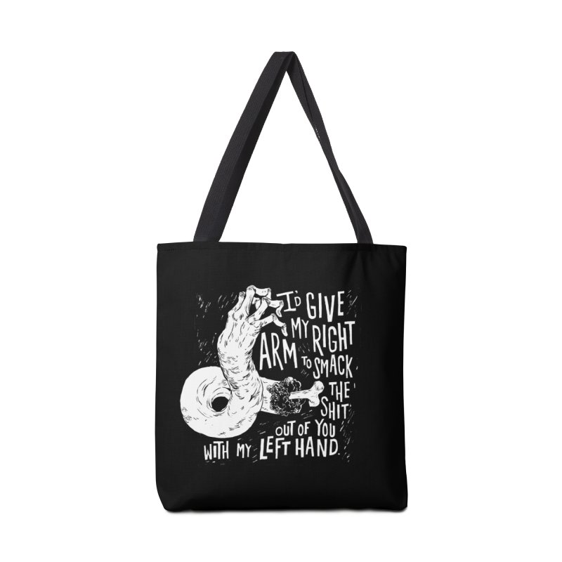 Right Arm Accessories Tote Bag Bag by Sam Heimer