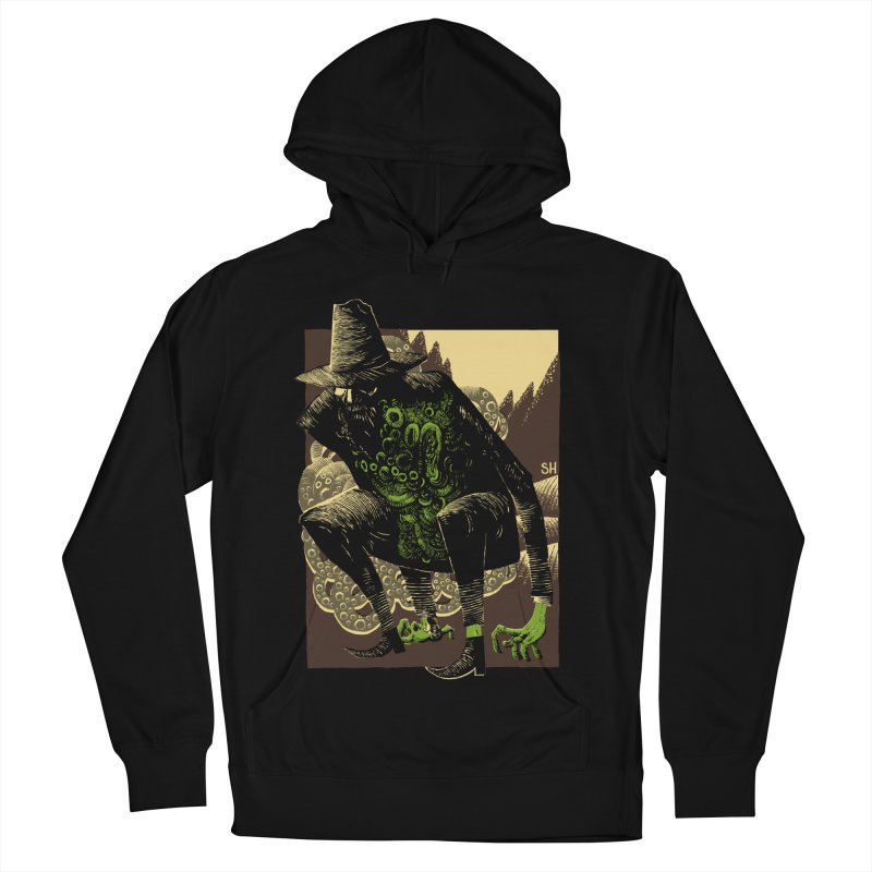 Wilbur Whateley Men's French Terry Pullover Hoody by Sam Heimer