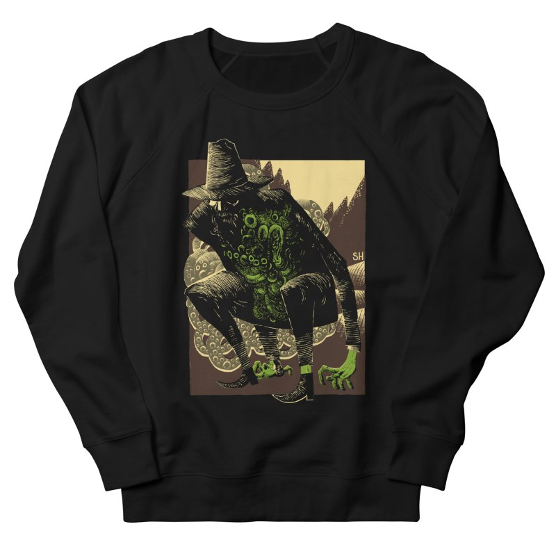 Wilbur Whateley Men's French Terry Sweatshirt by Sam Heimer